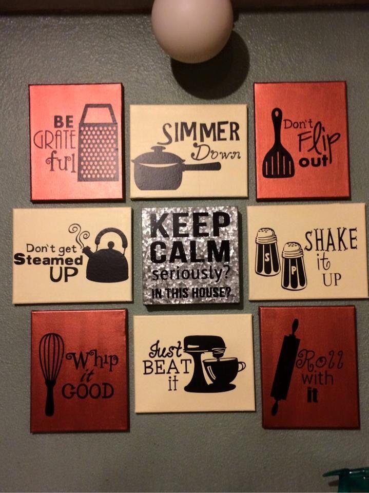 Kitchen Humor Wall Art Diy Decor Canvas