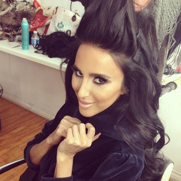 Lilly Ghalichi Makeup Pinterest Makeup Hair Style And Dark Hair