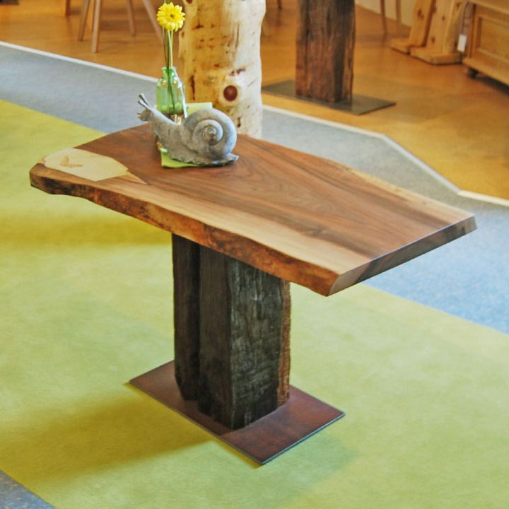 Holz Möbel, Tisch massiv Holz Unikat, Möbel Messmer, Monheim - esszimmer massiv modern