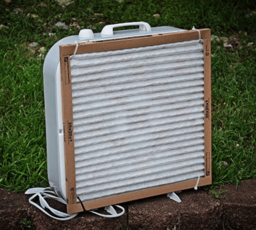 3 DIY Air Filters The Prepared Page in 2020 Box fan
