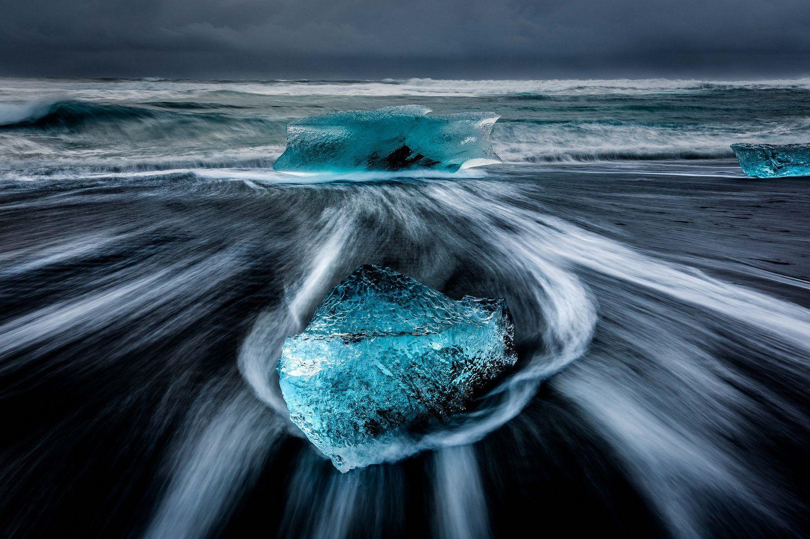 Iceberg beach, Jokulsarlon 2 | by Drynham