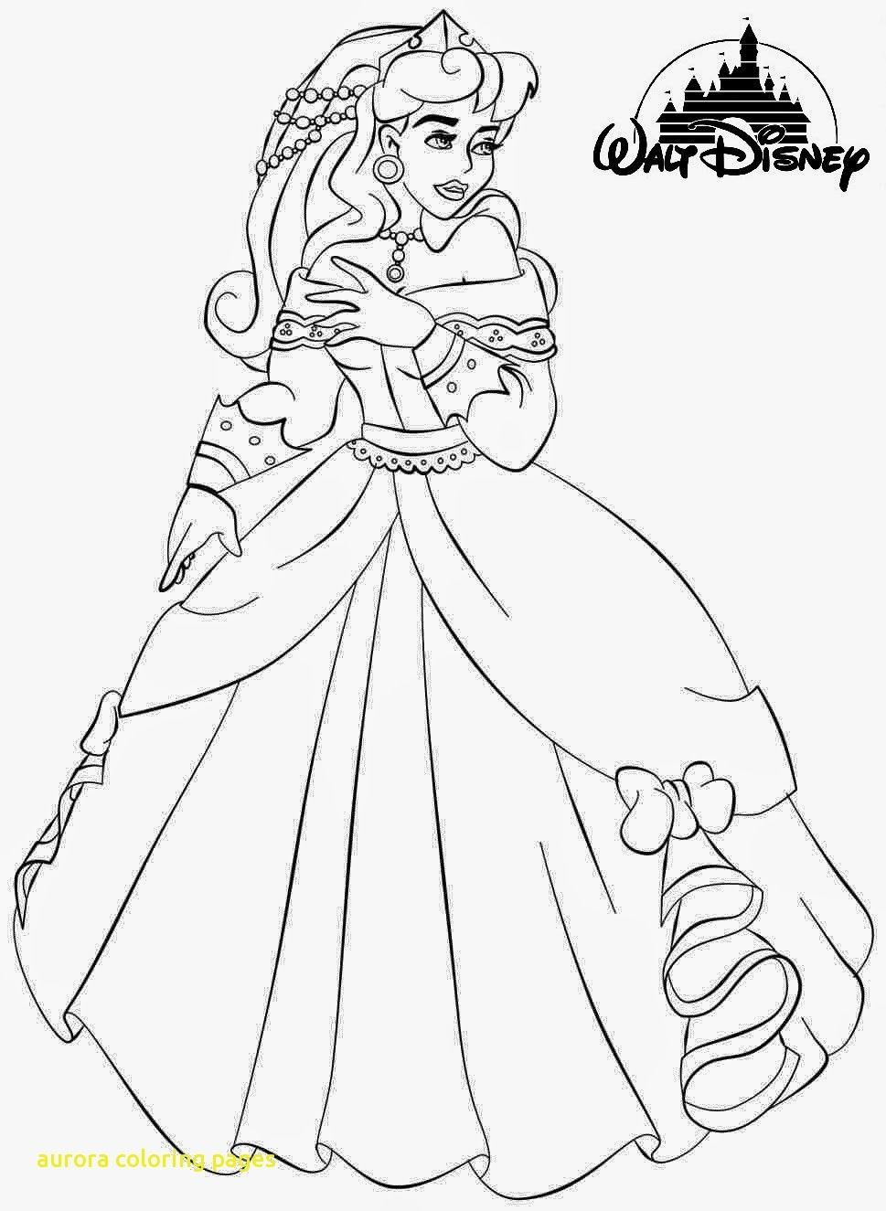 Princess Coloring Pages Aurora (With images) Princess