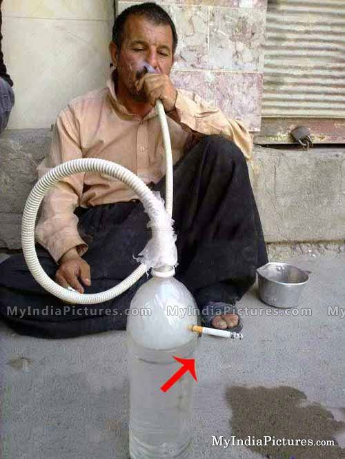 Funny Hookah Its Happen Only In India Jugaad Indian Funny Good