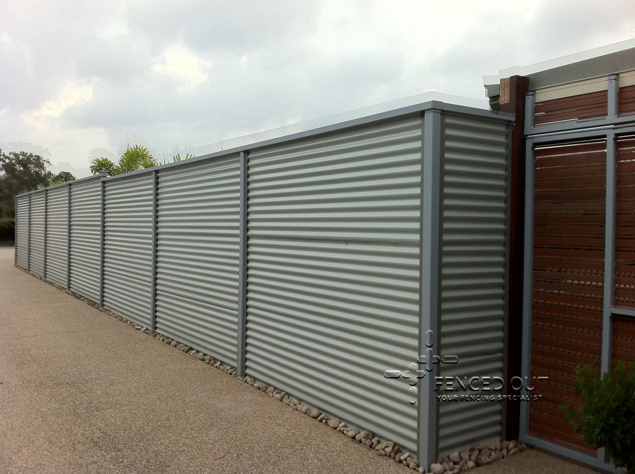 Corrugated metal fence and corrugated metal fences all steel fence corrugated metal fence and corrugated metal fences all steel fence design workwithnaturefo