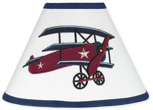 Kids Airplane Lamp Shade For Boys
