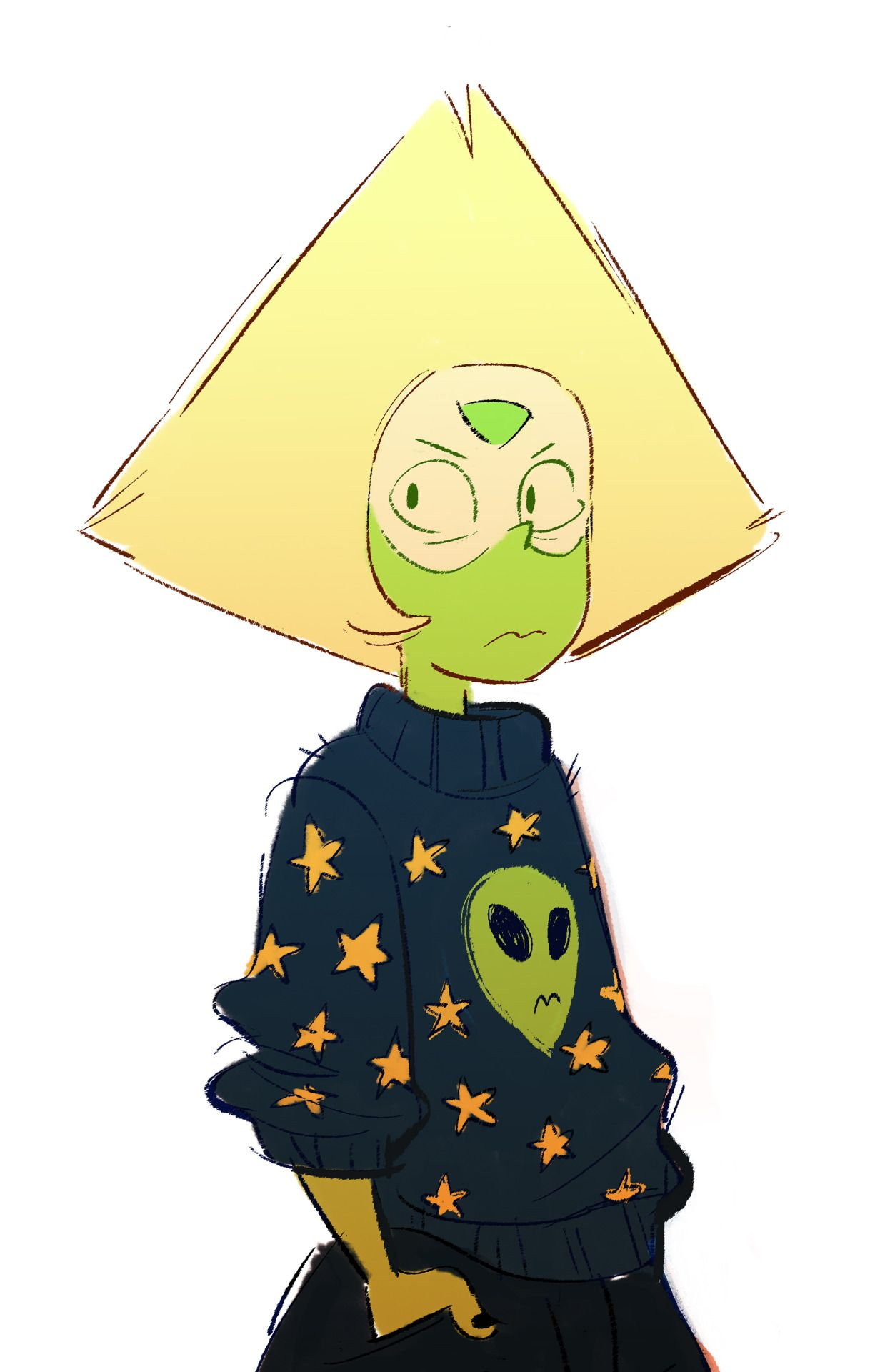 This day needs more Peridot I'm just sayin