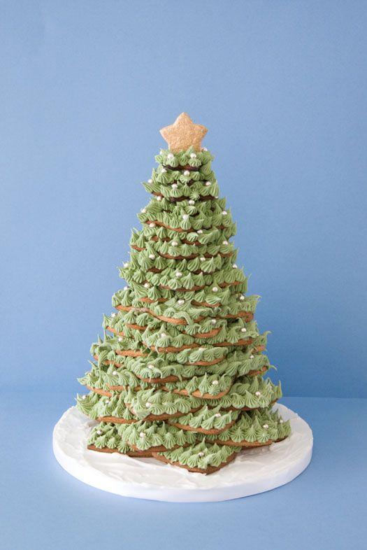 Gingerbread Cookie Christmas Tree Christmas Tree Cookies Cute