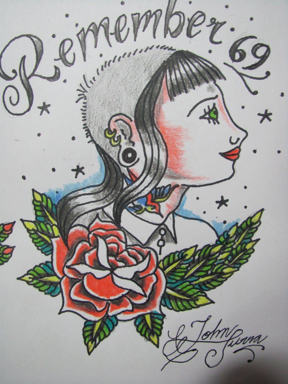 Skinhead Tattoos   Traditional Skinhead Tattoo Art