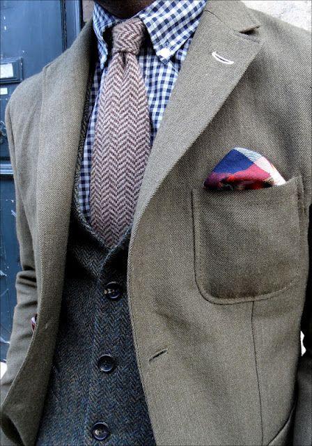 tweed on tweed