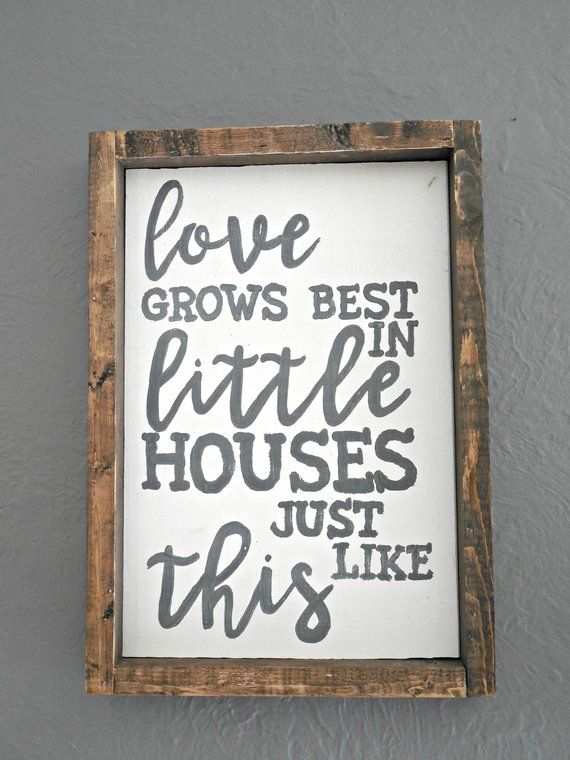 Download Hand painted wooden sign. 10.5x15 inches. Each piece will ...