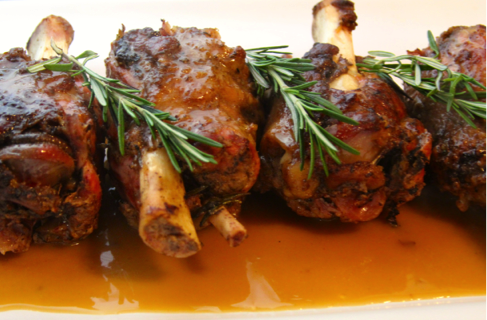 Grilled pork shank recipes