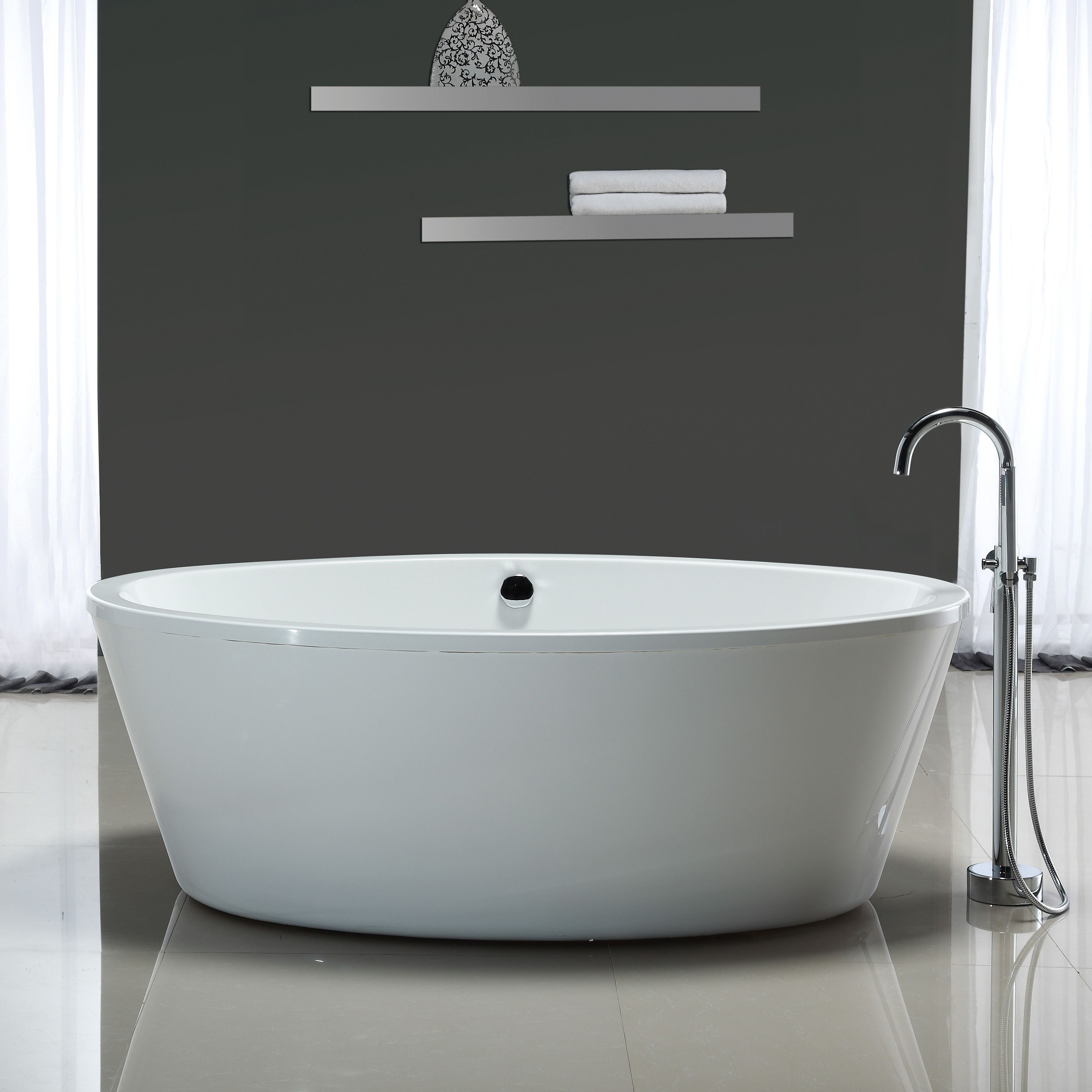 Shop Wayfair for All Bathtubs to match every style and budget. Enjoy ...