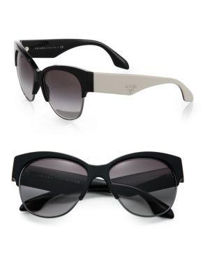 3d513b406d96 PRADA Two-Tone 56MM Phantos Sunglasses.  prada