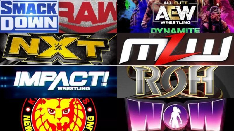 WWE, AEW, NXT, Impact, MLW, NJPW, WOW complete guide to