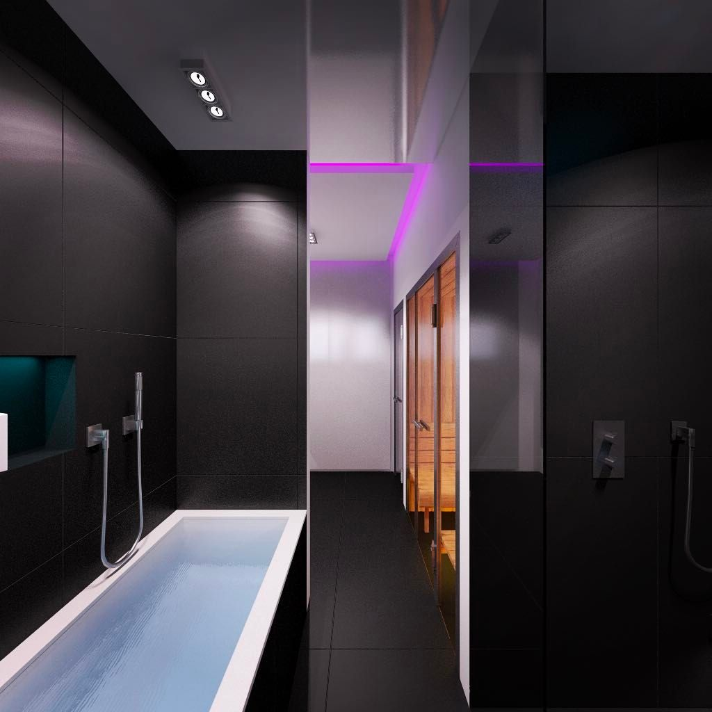 Die Grundlagen Der Interior Konzepte Für Ein Modernes Bad Simples Design  Für Moderne Bäder Die Einrichtung Für Moderne Badezimmer Zeichnet Sich  Durch Eine ...