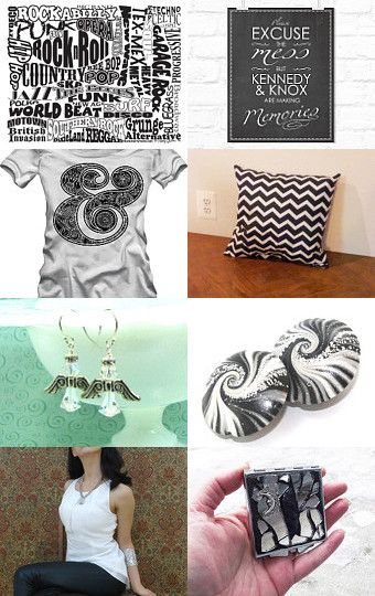 Black and White's from EMS TEAM by G.S.S Beauty Crochet Baby Boutique on Etsy--Pinned with TreasuryPin.com