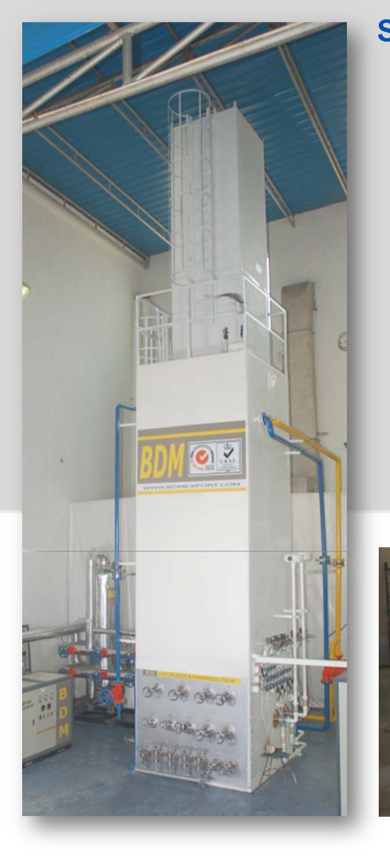 Buy air separation plants only from BDM as the company uses technology from Italy and incorporates raw materials from CE approved vendors.