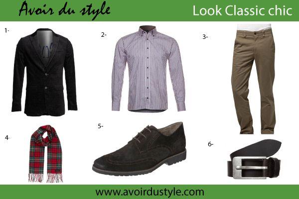 style vestimentaire classique et chic pour homme