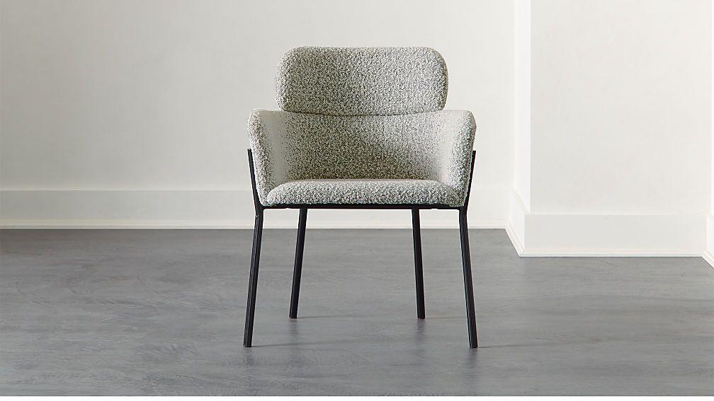 Azalea boucle chair reviews cb2 in 2020 furniture