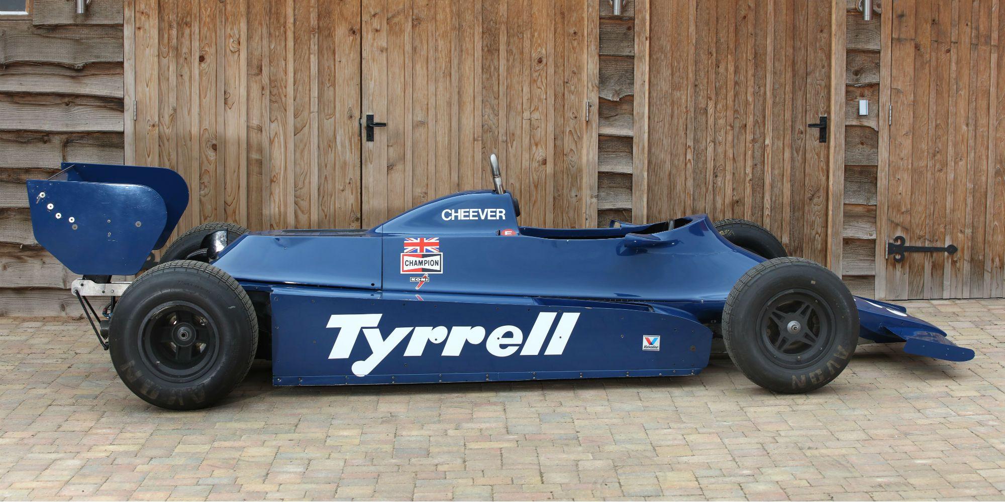tyrrell 010 formula 1 1980 ex daly cheever 225 000 building plastic f1 pinterest cars. Black Bedroom Furniture Sets. Home Design Ideas
