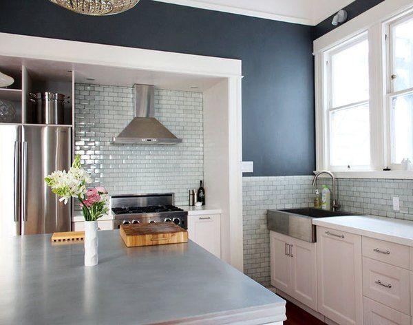 things you should know about zinc countertops victorian kitchen kitchen spotlights zinc on kitchen zinc id=58412