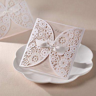 personalisierte Hochzeitseinladung Hohl Design (Satz 50) – EUR € 58.17