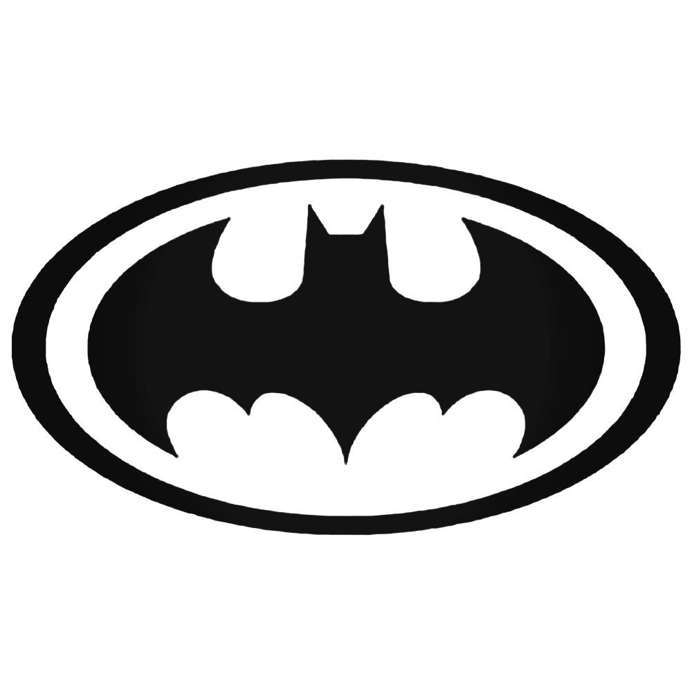 Batman style 1 decal sticker ballzbeatz com