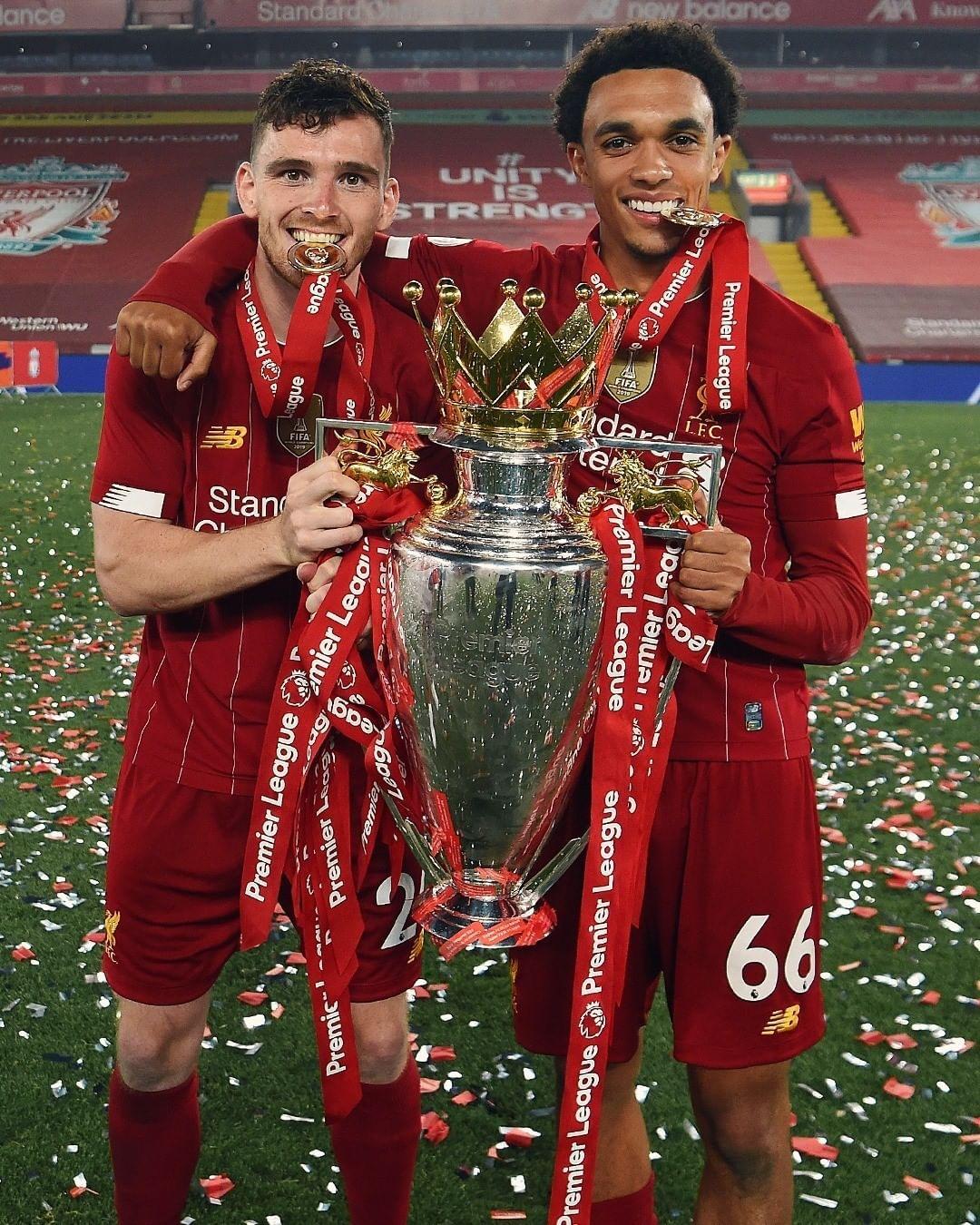 Liverpool Football Club On Instagram Our Premierleague Winning Full Backs Lfcchampions L In 2020 Liverpool Football Liverpool Football Club Liverpool Champions
