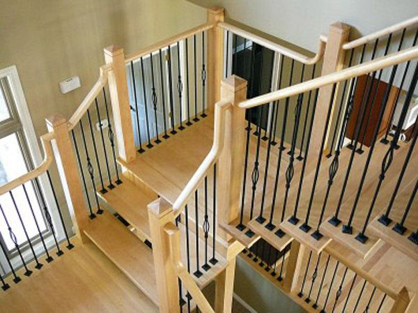 Best Metal Balusters Canada Plain Twist Basket Knuckle 640 x 480