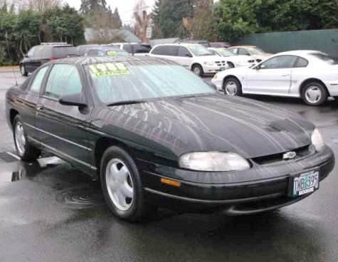 1995 chevy monte carlo z34 nice used car under 1000 in oregon cheap cars for sale chevy monte carlo monte carlo for sale cheap cars for sale chevy monte carlo