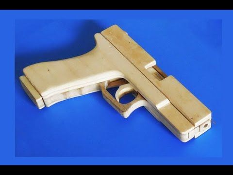 Make A Blowback Glock 18 Which Shoots Rubberbands Free