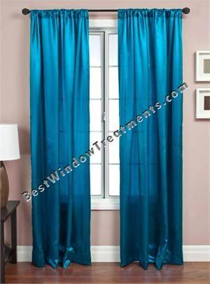 Kensington Solid Curtain Drapery Panels