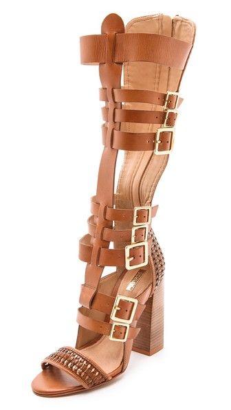 Schutz Gladiator Heels | Tsaa Heel