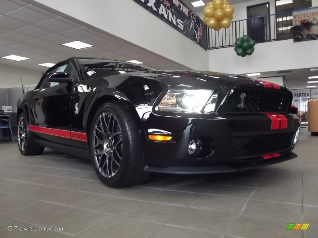 2014 black mustang gt 5 0 2012 mustang shelby gt500 svt performance package convertible black