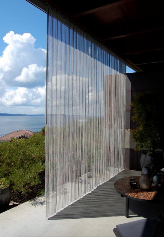 Beaded Curtain Room Divider