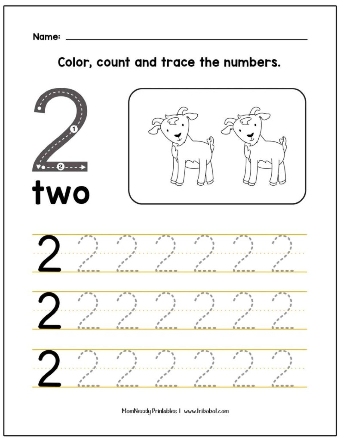 Let S Trace Numbers