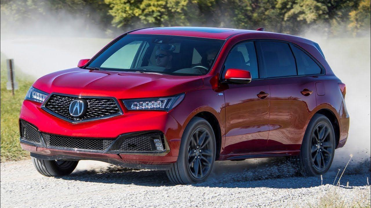 2019 Acura Mdx A Spec Acura Mdx Acura Honda Motors