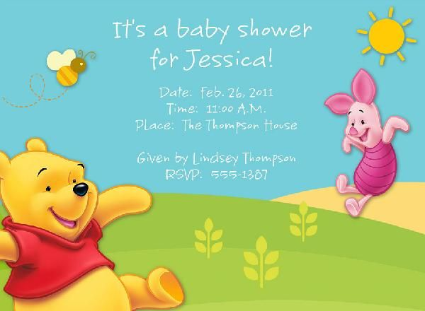 Download Free Baby Shower Invitations Templates FREE Baby Shower - free baby shower downloadable invitation templates