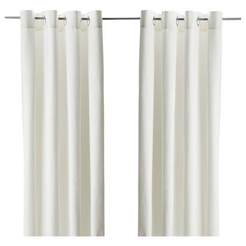 MERETE par de cortinas