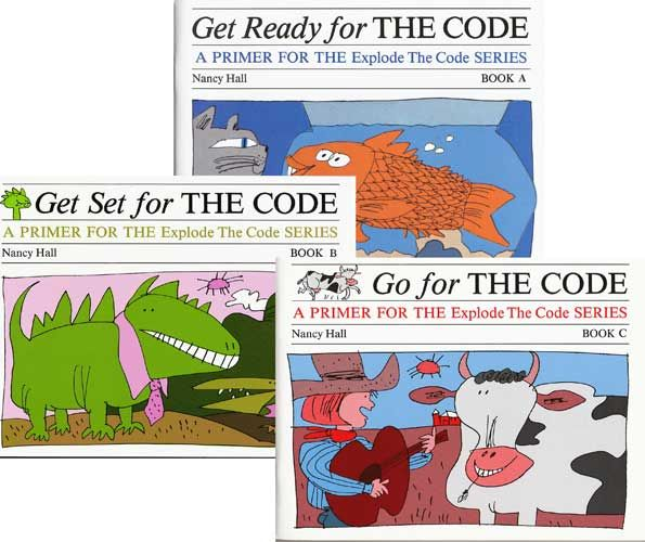 Complete Explode the Code Primer Set A, B & C