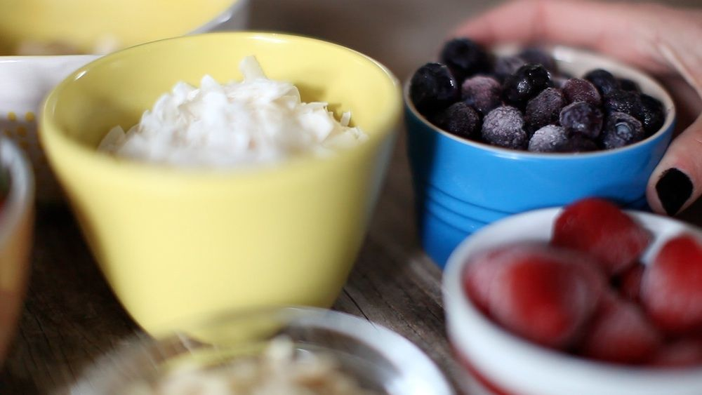 Acai berries are a great source of antioxidants, fiber and heart-healthy fats.
