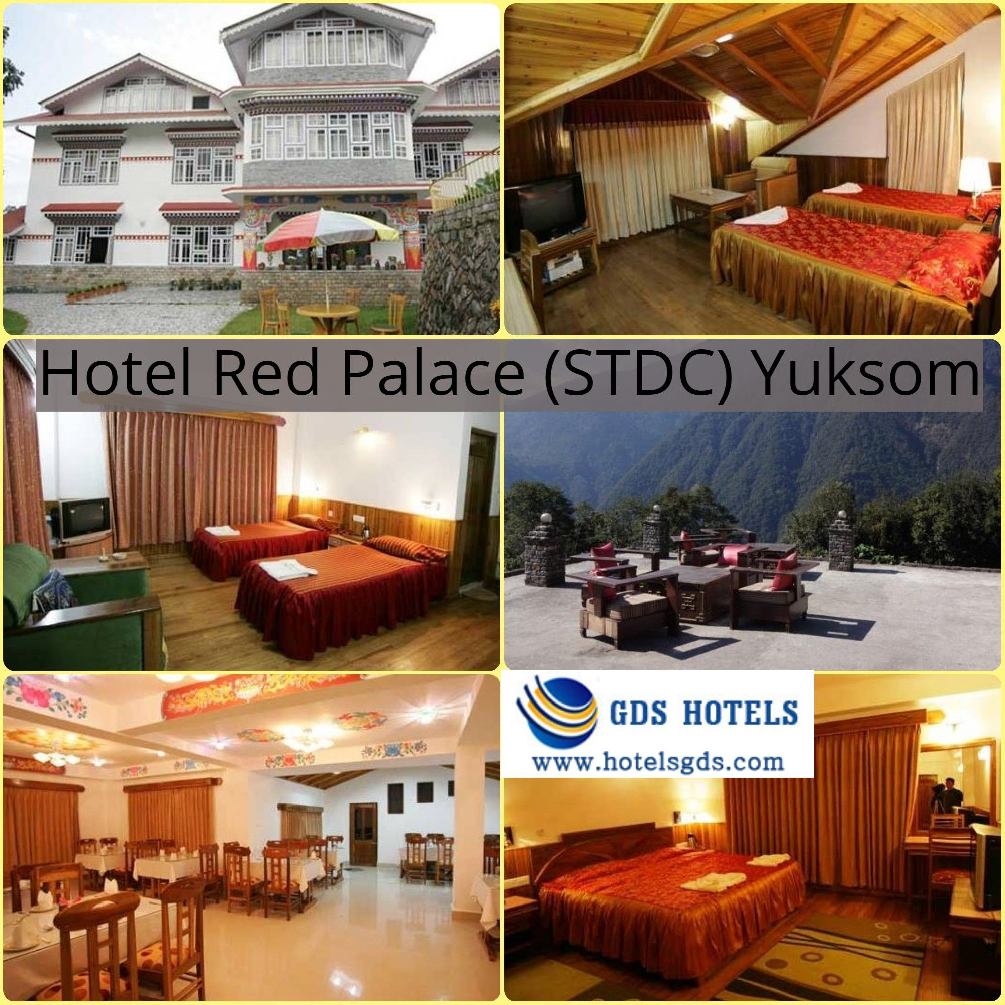 Hotel Red Palace located amongst natural beauty in the