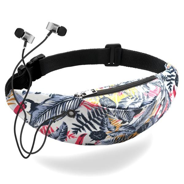 Pin Flamingo Love Sport Waist Packs Fanny Pack Adjustable For Travel