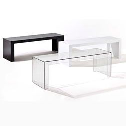 Consolle Invisible Kartell.Kartell Invisible Side Table Ideas For The House Modern