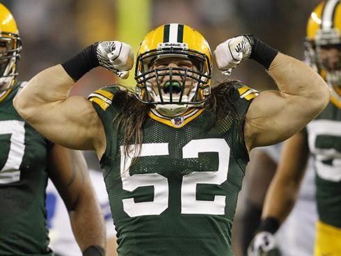 Nfl S Best Clay Matthews And The Top 10 Outside Lbs Of 2011 With Images Clay Matthews Nfl Football