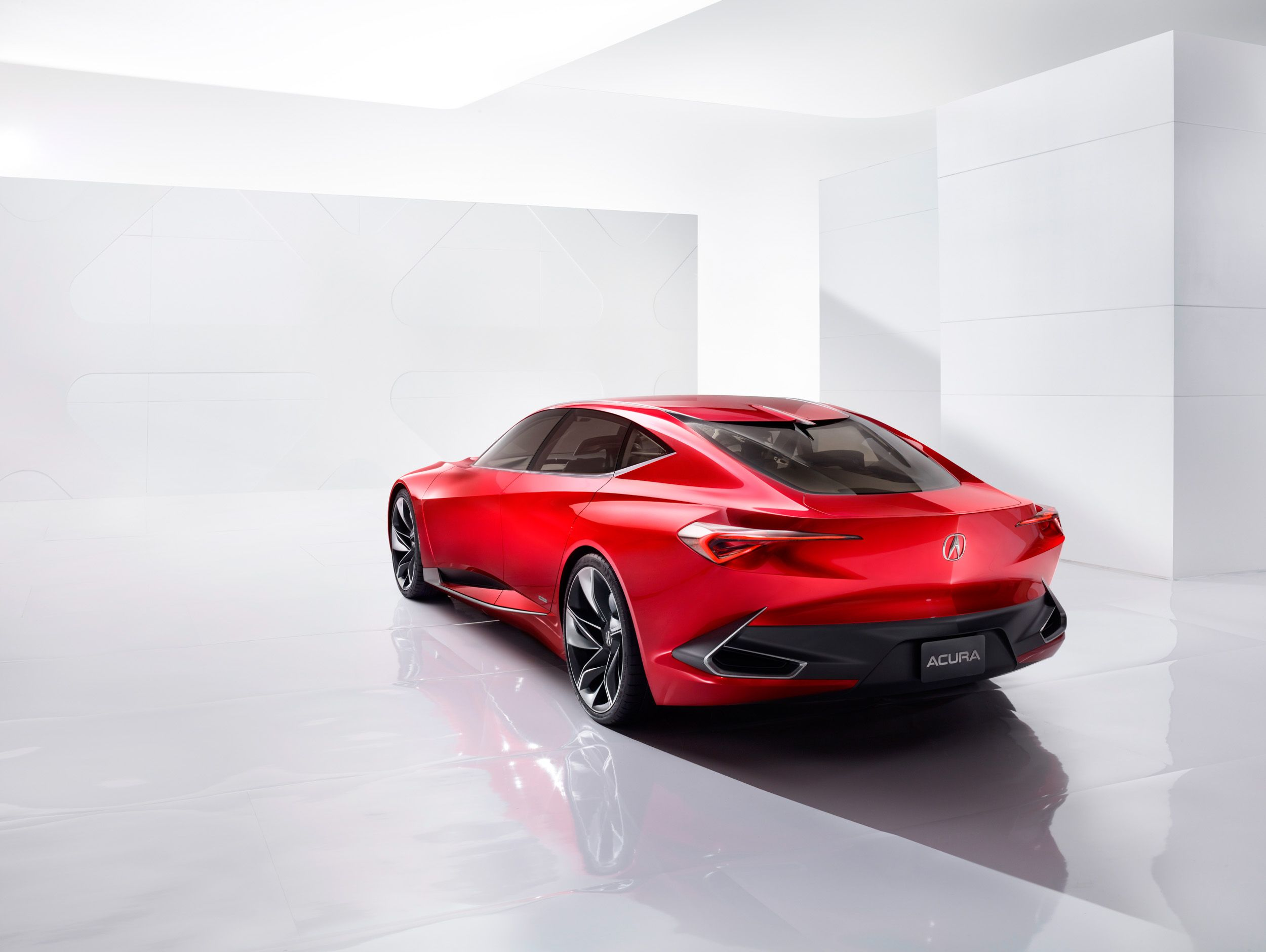 Sleek And Fun Acura Precision Concept Impresses At Naias Cf Blog In 2020 Acura Concept Cars Concept Car Sketch