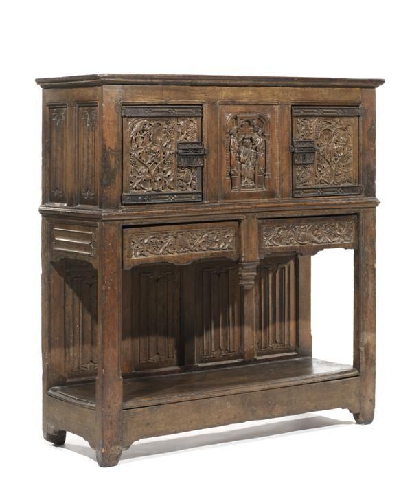 Gothic buffet mueble antiguo pinterest muebles - Muebles antiguos baratos ...