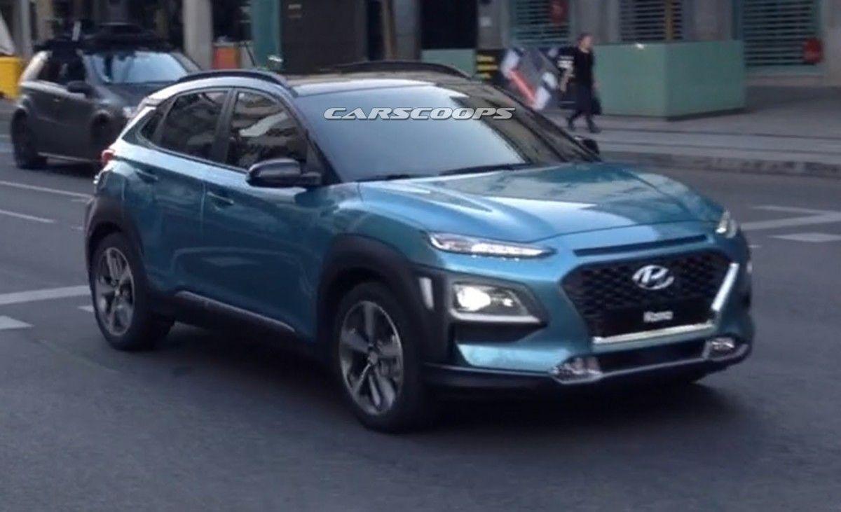 Кроссовер Hyundai Kona 2018 полностью рассекречен на фото и видео