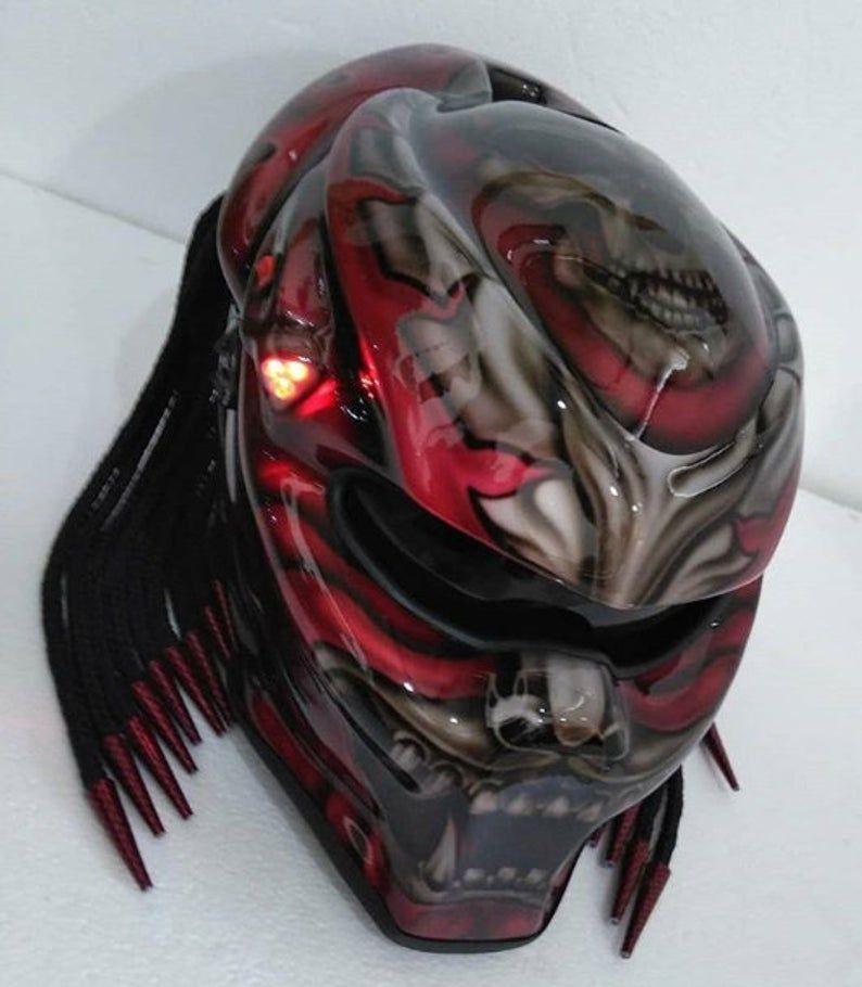 Pin By Alan Kearney On Dark Imagery In 2020 Predator Helmet