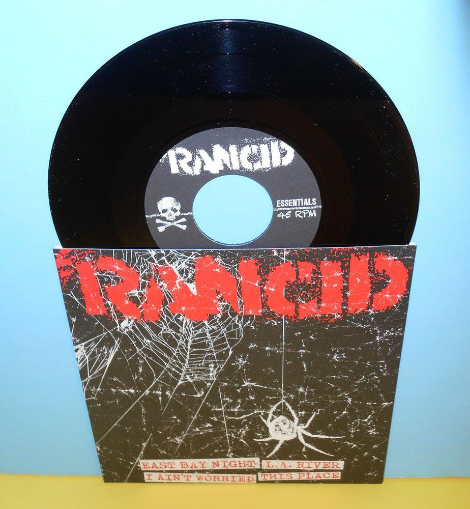 Rancid L A River 4 Song Ep 7 Record Punk Vinyl Vinyl Records Records Vinyl